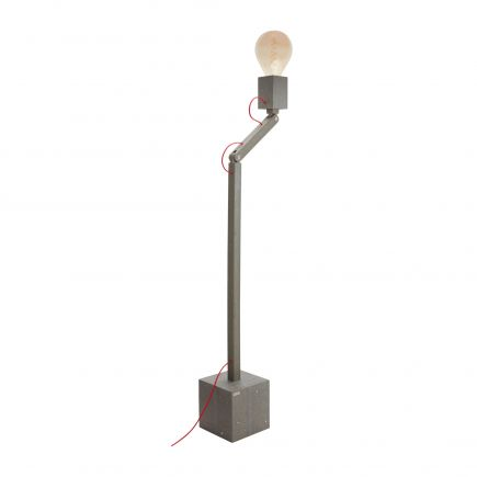 Lampadaire articulé sur pied en Polyal Design by Fabrice Peltier