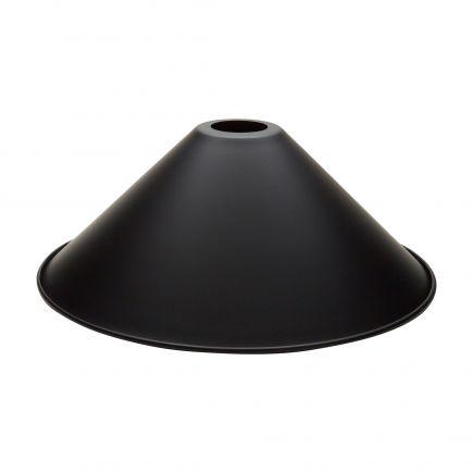 Abat-jour métal noir ø 300 mm