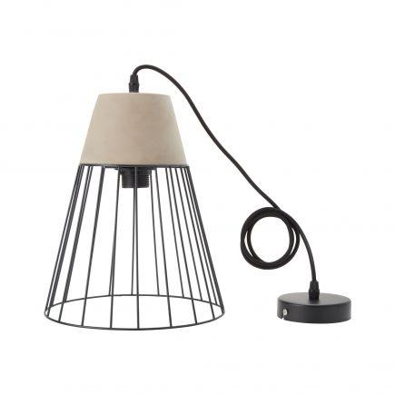 CONCRETE - modern pendant lamp - E27