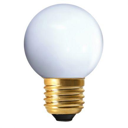 Sphérique LED 1W E27 4000K 80Lm Blanc