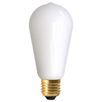 Edison ST64 filament LED 10W E27 2700K 1250Lm Opaline Dim