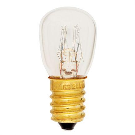 Lampe pour four Incan. (<300°C) 15W E14 2750K 110 Dim.