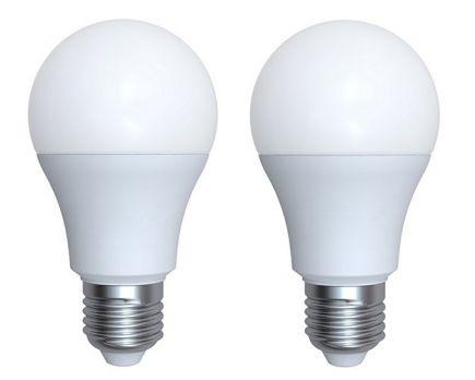 Ecowatts - Standard A60 (2pcs) LED 270° 9W E27 2700K 806Lm Opaline