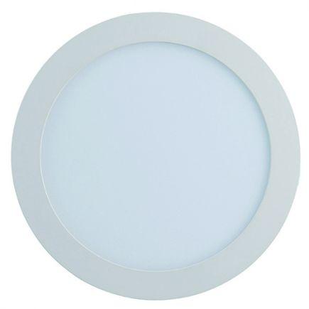 Kili - EcoWatts - Luminaire encastré LED Ø225x25 enc.Ø207 18W 3000K 1260lm 110° blanc
