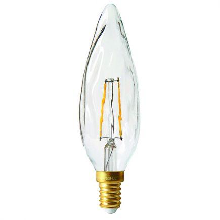 Flamme GS8 Filament LED 2W E14 2700K 220Lm Cl.