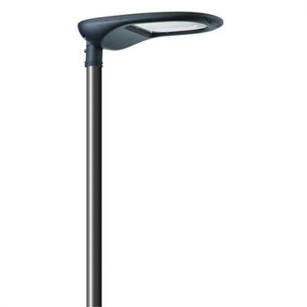 Aurora - Eclairage public LED IP66 762x370x128 140W 3000K 14500lm 45-135° gris foncé