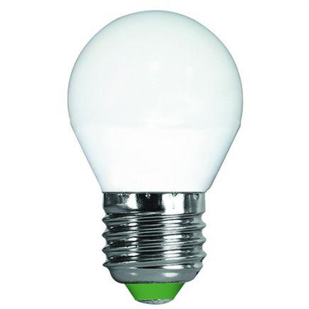 Sphérique G45 LED 330° 5W E27 2700K 400Lm Dépolie